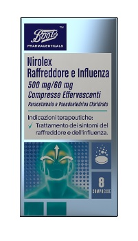Paracetamolo Pseudoef Alm 500 Mg/60 Mg Compresse Effervescenti 8 Compresse