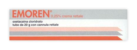 Emoren 0,25% Crema Tubo 20 G