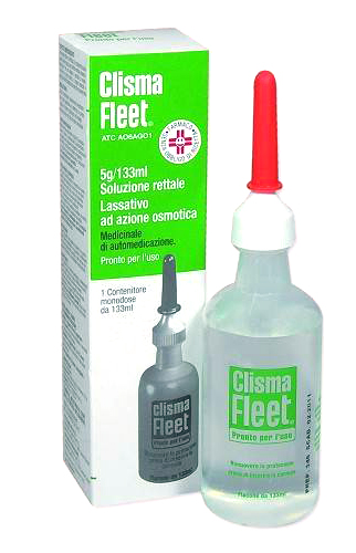 Clisma Fleet Pronto Uso Pronto Per L'uso Flacone 133 Ml
