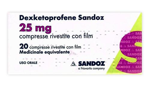 Dexketoprofene San 25 Mg Compresse Rivestite Con Film 20 Compresse In Blister Pvc/Pvdc/Al