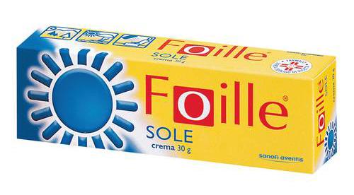 Foille Sole Crema 1 Tubo Da 30 G