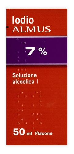 Iodio Sol Alco I 7%/5% Soluzione Cutanea Alcoolica 1 Flacone 25 Ml
