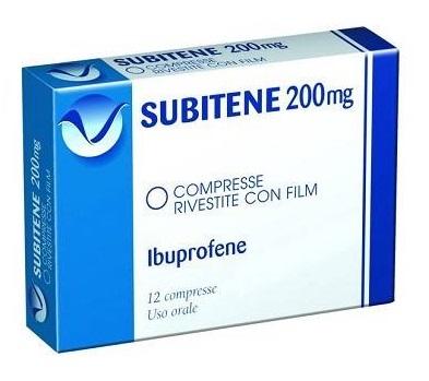 Subitene 200 Mg Compresse Rivestite Con Film 12 Compresse