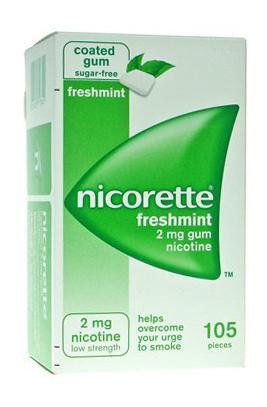 Nicorette 2 Mg Gomme Da Masticare Medicate Gusto Menta Forte 105 Gomme