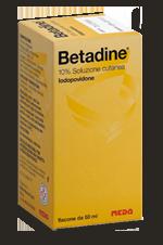 Betadine 10 Soluzione Cutanea 1 Flacone 50 Ml