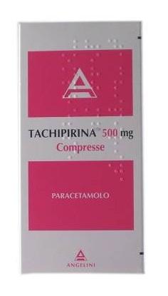 Tachipirina 500 Mg Compresse 30 Compresse