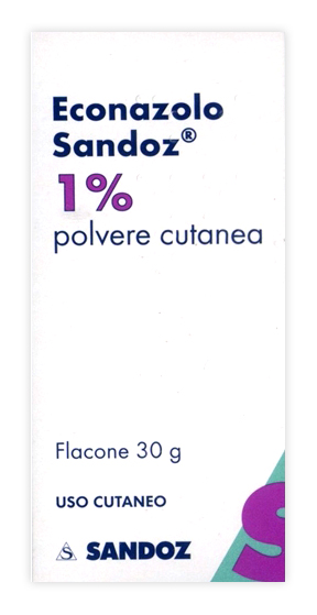 Econazolo Sand 1% Polvere Cutanea Flacone 30 G