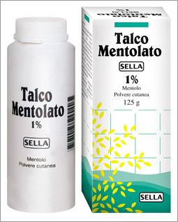 Mentolo Sella 1% Polvere Cutanea 1 Flacone 100 G