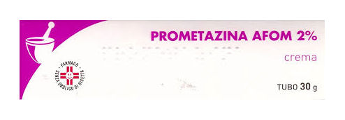 Prometazina Afom 2% Crema Tubo 30 G