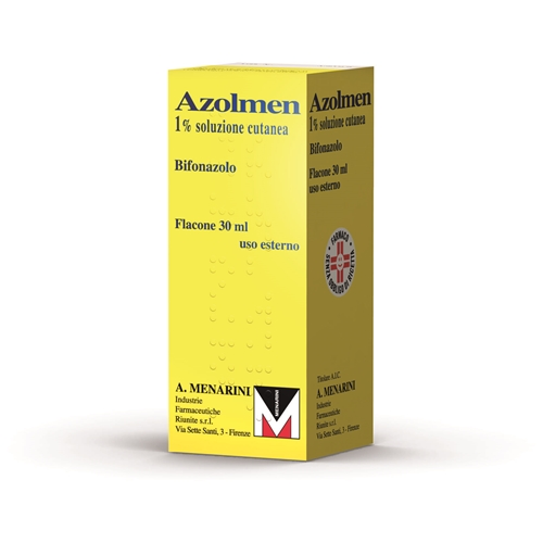 Azolmen 1% Soluzione Cutanea Flacone 30 Ml
