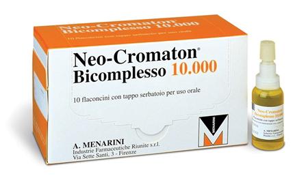 Neocromaton Bic.10000 10.000 Polvere E Solvente Per Soluzione Orale 10 Flaconcini