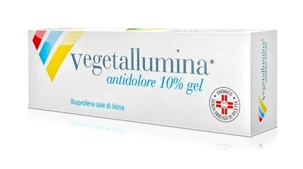 Vegetallumina Antid 10% Gel 1 Tubo Da 50 G
