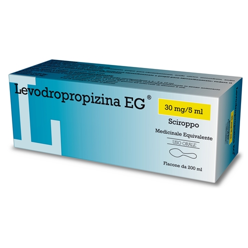 Levodropropizina Eg 30 Mg/5 Ml Sciroppo Flacone Da 200 Ml