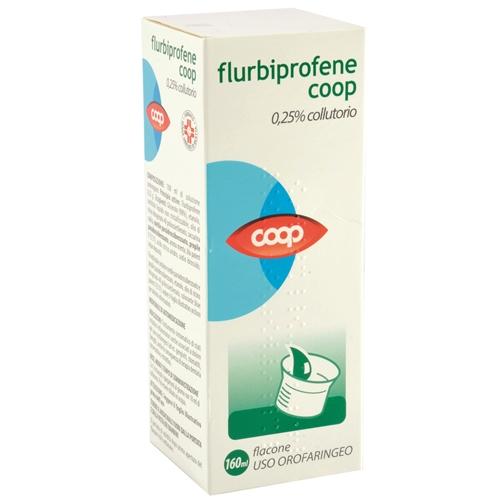 Flurbiprofene Coop 0,25% Collutorio Flacone Da 160 Ml
