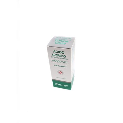 Acido Borico Mv 3% Soluzione Cutanea Flacone Da 200 Ml