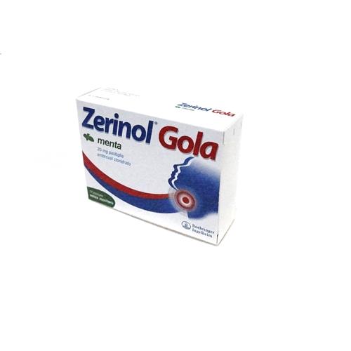 Zerinol Gola Menta 20 Mg Pastiglie 18 Pastiglie In Blister Pp/Alu