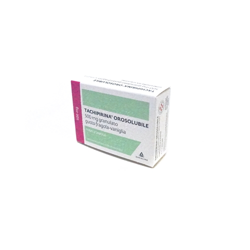 Tachipirina Orosol 500 Mg Granulato Gusto Fragola E Vaniglia 12 Bustine In Al