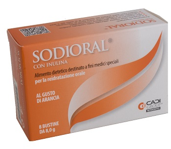 Ca.di.group Sodioral Inulina 8 Bustine 8 G