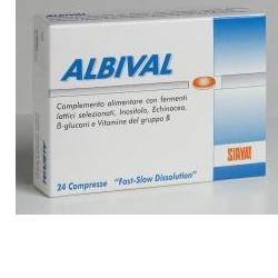 Sirval Albival Probiotico 24 Compresse