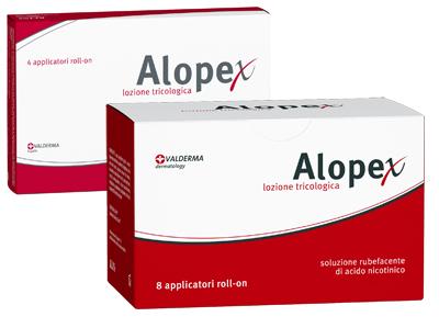 Valderma Lozione Capillare Alopex 4rollon 40ml