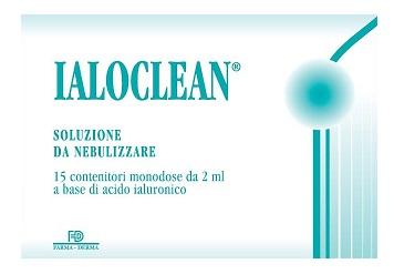 Farma derma Ialoclean Soluzione Da Nebulizzare 15 Fiale 2 Ml