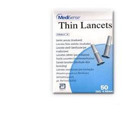 Abbott Diabetes Care Italia Lancette Pungidito Medisense Thin 28 Gauge 50 Pezzi