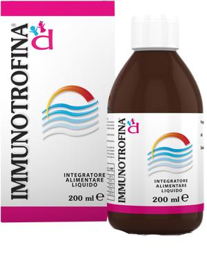 D.m.g. Italia Immunotrofina Integratore Alimentare Liquido 200 Ml Nuova Formula