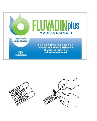 Farma derma Ovuli Vaginali Fluvadin Plus 10 Pezzi