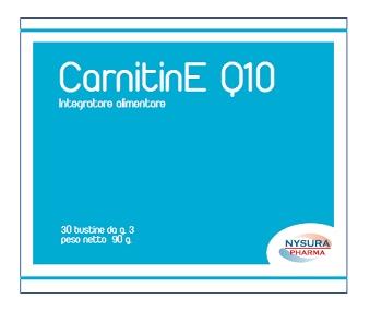 Nysura Pharma Dr. Laneri G. Carnitine Q10 30 Bustine