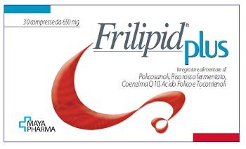Maya Pharma Frilipid Plus 30 Compresse Da 650 Mg