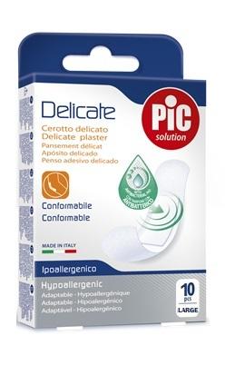 Pikdare Cerotto Pic Delicate 25x72 Mm Antibatterico 10 Pezzi