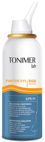 Ist.ganassini Tonimer Lab Panthexyl Soluzione Spray 100 Ml
