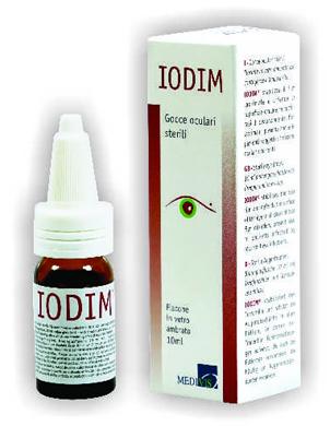 Medivis Iodim Gocce Oculari 10 Ml Sterili