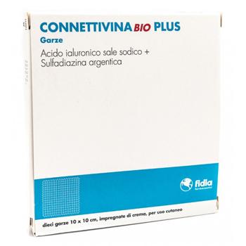 Fidia Farmaceutici Connettivinabio Plus Garza 10 X 10 Cm 10 Pezzi