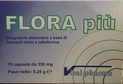 Vital Pharma Flora Piu 15 Capsule