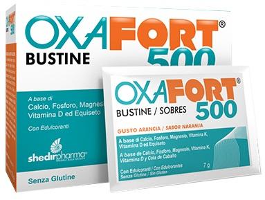 Shedir Pharma  Unipersonale Oxafort 500 18 Bustine
