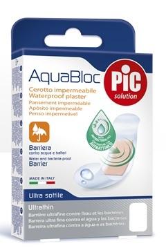 Pikdare Cerotto Pic Aquabloc Cm10x15 Antibatterico 5 Pezzi