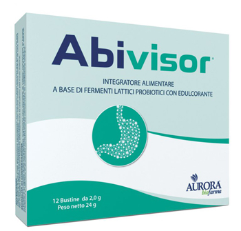 Aurora Biofarma Abivisor 12 Bustine Da 2 G