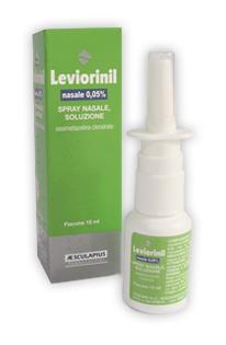 Leviorinil Nasale 0,05 % Spray Nasale, Soluzione Flacone Da 15 Ml