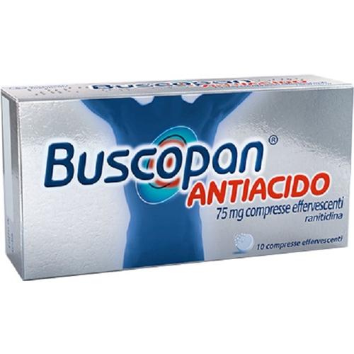 Buscopan Antiac 75 Mg Compresse Effervescenti 10 Compresse