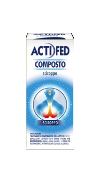 Actifed Composto Sciroppo Flacone 100 Ml