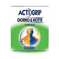 Actigrip GiornoeNotte 500 Mg 60 Mg Compresse 12 Compresse Giorno 500 Mg 25 Mg Compresse 4 Compresse Notte