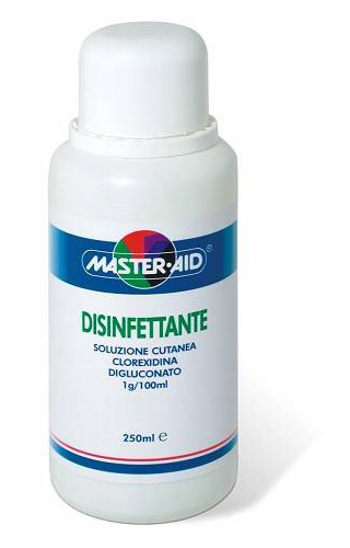 Master Aid Disinf 1% Soluzione Cutanea Flacone 250 Ml