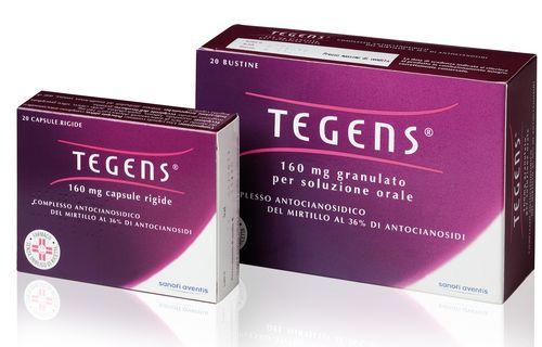 Tegens 160 Mg Granulato Per Soluzione Orale 20 Bustine