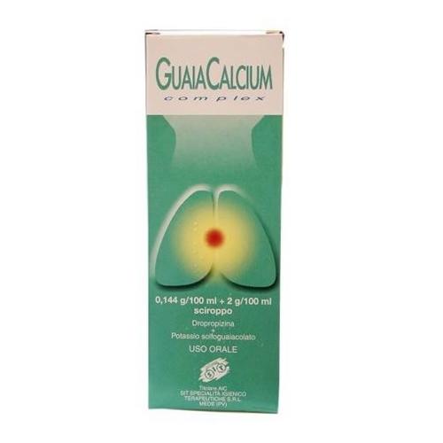 Guaiacalcium Complex 0 144 G 100 Ml 2 G 100 Ml Sciroppo Flacone 200 Ml