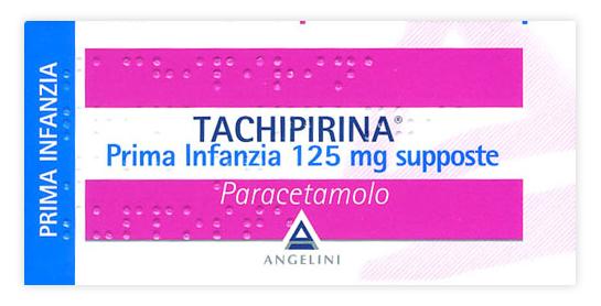 Tachipirina Prima Infanzia 125 Mg Supposte 10 Supposte