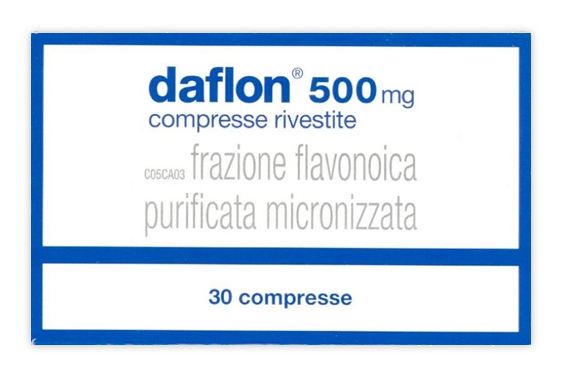 Daflon 500 Mg Compresse Rivestite Con Film 30 Compresse