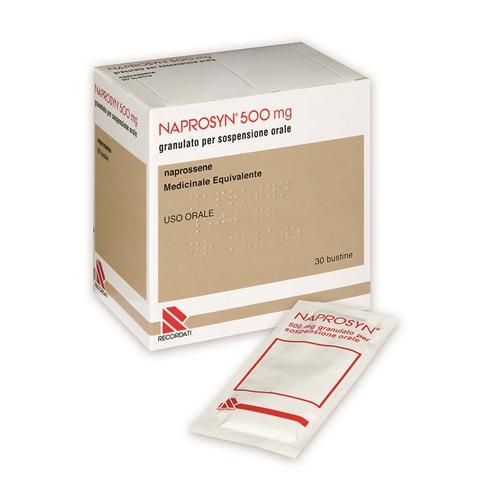 Naprosyn 250 Mg Granulato Per Sospensione Orale 30 Bustine