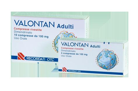 Valontan Adulti 100 Mg Compresse Rivestite 4 Compresse