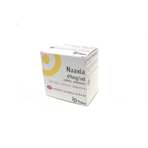 Naaxia 49 Mg Ml Collirio Soluzione 30 Contenitori Monodose